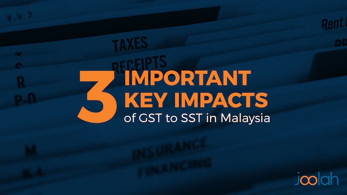 GST to SST in malaysia