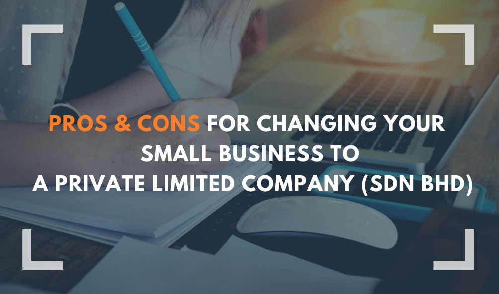 small business to private limited company sdn bhd, save personal income tax