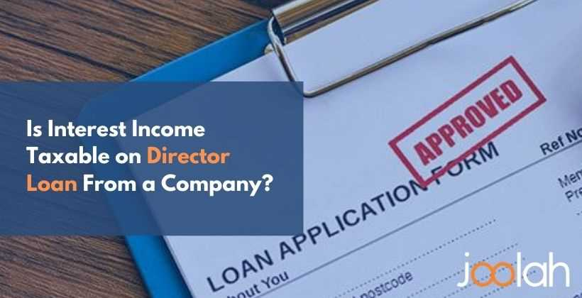 director loan application form